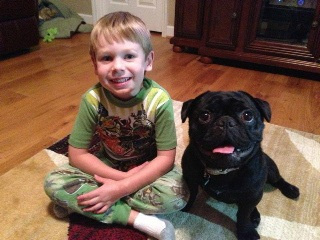 Muggy and Happy Boy